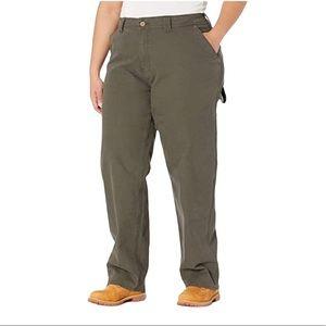 Dickies Women's Plus Stretch Carpenter Duck Pants